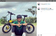Irfan Jaya Pulkam Bukan Cuma Latihan di Rumah, Tetapi juga Gowes - JPNN.com