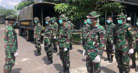 Sesuai Perintah Panglima, Mayor Budiman Kerahkan Personel ke RS Universitas Brawijaya