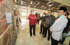 Masjid Istiqlal Terima Bantuan Pencegahan COVID-19 - JPNN.com
