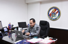 Selamat! Lima Perwira Menengah Bakamla Mendapat Kenaikan Pangkat di Tengah Wabah Corona - JPNN.com