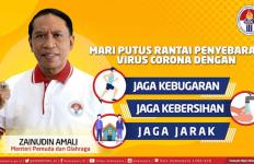 Menpora Berbagi Cara Jitu agar Masyarakat Terhindar dari Virus Corona - JPNN.com