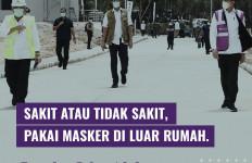 Pak Jokowi: Semua yang Keluar Rumah Harus Pakai Masker - JPNN.com