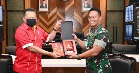 Bamsoet Temui Jenderal Andika Soal Pelibatan TNI AD