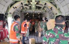 TNI Kerahkan Hercules Angkut Logistik untuk Penanganan Pasien Covid-19 di Pulau Galang - JPNN.com