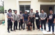 Garang Saat Bacok Ayah dengan Parang, Hartansah Tak Berkutik Ketika Didatangi Polisi - JPNN.com