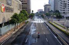 Hari Kedua PSBB, Ring Satu Jakarta Lengang - JPNN.com