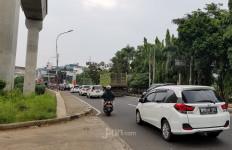 PSBB Hari Pertama di Tangsel, Lalu Lintas Masih Padat Merayap - JPNN.com
