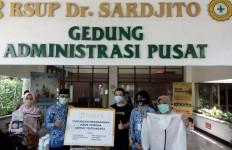 Hellofit Salurkan Bantuan APD Senilai Rp700 juta ke RSUP Dr Sardjito - JPNN.com