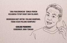 Jokowi Larang Mudik, Ganjar Tiga Jam Duduk Dengar Curhat Warga Jateng di Perantauan - JPNN.com