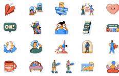 WhatsApp Luncurkan Stiker Social Distancing - JPNN.com