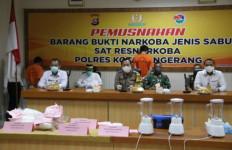 Sabu-sabu 11,172 Kg Dimusnahkan Polresta Tangerang - JPNN.com