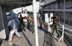 Personel Kapal Perang TNI AL Tiba-tiba Dikejutkan dengan Alarm Tanda Bahaya - JPNN.com