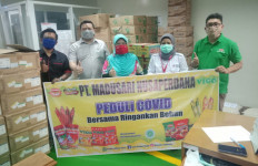 Madusari Nusaperdana Peduli Gizi Masyarakat di Tengah Wabah Covid-19 - JPNN.com