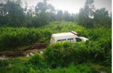Ambulans Pembawa Pasien Positif Corona itu Mendadak Terjun ke Sungai, Lihat Ini Kondisinya - JPNN.com