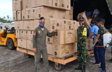 Prajurit TNIDistribusikan APD dengan Jargon Tepat Sasaran - JPNN.com