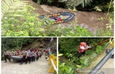 Sopir Truk yang Terjun Bebas ke Jurang Belum Ditemukan - JPNN.com