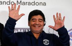 Kali Ini Maradona Sangat Berharap Bantuan 'Tangan Tuhan' - JPNN.com