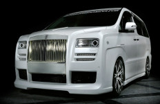 Toyora Alphard Bertampang Rolls-Royce - JPNN.com