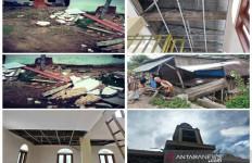 Sejumlah Bangunan di Tapanuli Selatan Rusak Akibat Gempa Padang Lawas - JPNN.com