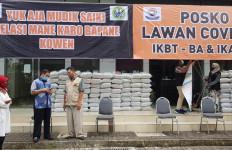 Warga Tegal di Jabodetabok Tak Mudik, IKBT-BA dan IKASMA Bantu Sembako - JPNN.com