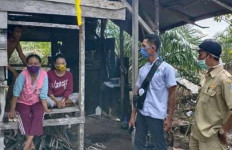 Pulang dari Jakarta, Ibu dan Dua Anaknya Isolasi Mandiri di Perladangan - JPNN.com