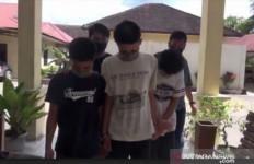 Masa Belajar di Rumah, Tiga Pelajar Ini Malah Asyik Berbuat Terlarang - JPNN.com