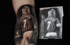 Alasan Marc Klok Pasang Tato Gambar David Beckham di Betis - JPNN.com