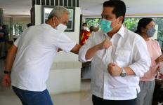 Erick Thohir Mengunjungi Pak Ganjar, Ada Pembahasan Khusus soal Jateng - JPNN.com