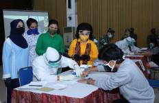 Ketum Dharma Pertiwi Tinjau Rapid Test di Markas Komando Korps Marinir - JPNN.com