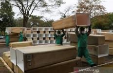 Orang Kaya Membawa Virus Corona ke Brasil, Kini Jutaan Warga Terinfeksi - JPNN.com