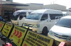 Tujuh Travel Gelap Diamankan Polres Cianjur, Tujuan Jakarta - JPNN.com