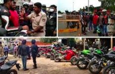 Warga Lain sedang Pembatasan Sosial, Ratusan Pengendara Moge Ini Malah Asyik Konvoi di Jalan - JPNN.com