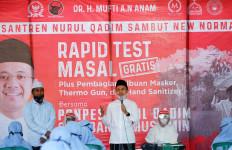 Dukung New Normal di Pesantren, Mufti Anam Gelar Rapid Test Massal Santri - JPNN.com