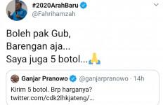Ketika Ganjar Pesan Madu, Fahri Hamzah dan Fadli Zon pun Ikutan - JPNN.com