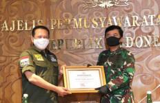 MPR RI Berikan Penghargaan Kepada Prajurit TNI - JPNN.com