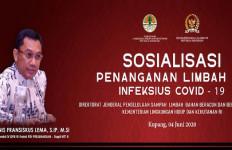 Bareng KLHK dan Pemprov NTT, Ansy Lema Gelar Sosialisasi Penanganan Limbah Infeksius Covid-19 - JPNN.com