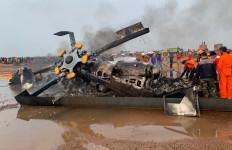 KSAD Mengantongi Hasil Investigasi Jatuhnya Helikopter yang Menewaskan Lima Prajurit TNI di Kendal - JPNN.com