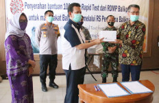 RDMP Balikpapan Joint Operation Donasikan 1.000 Alat Rapid Test - JPNN.com