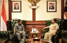 Kepala Bakamla RI Bertemu Menhan Prabowo, Ada Pembicaraan Penting - JPNN.com