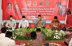 Para Tokoh Nasional Peringati Bulan Bung Karno dan 7 Tahun Wafat Taufiq Kiemas - JPNN.com
