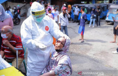 Mohon Maaf, Pasar Kebayoran Lama Ditutup Usai Diamuk Corona - JPNN.com