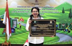 Dirjen PSLB3 KLHK Resmikan Fasilitas Pengelolaan Sampah di Indramayu - JPNN.com
