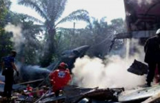 Pesawat Tempur Milik TNI AU Jatuh di Kampar Riau, Terdengar Ledakan Keras - JPNN.com