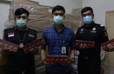 Bea Cukai Sumut Gagalkan Penyelundupan 400 Ribu Batang Rokok Ilegal - JPNN.com