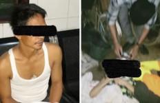 Haris Bunuh Ibu Kandung Pakai Cangkul, Begini Kronologinya - JPNN.com