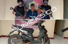Zulkarnain Diringkus Gegara Motor Curiannya Kehabisan Bensin - JPNN.com