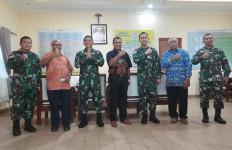 Danrem 174 Merauke Berkunjung ke Keuskupan Agung Merauke, Nih Tujuannya - JPNN.com