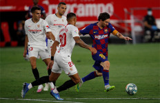 Imbang Lawan Sevilla, Barcelona Terancam Kehilangan Posisi Puncak - JPNN.com
