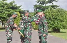 Danrem 174 Merauke Sambut Kedatangan Kolonel Agustinus Dedi Prasetyo - JPNN.com