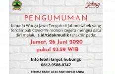 Khusus Warga Jateng di Jabodetabek, Data Diri Anda Ditunggu Pak Ganjar Sekarang - JPNN.com